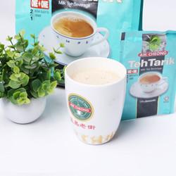 马来西亚进口 益昌 二合一无蔗糖速溶奶茶粉 冲饮原料独立袋装 375g *4件