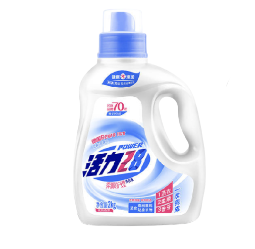 活力28 家用 柔顺护理 洗衣液 2kg