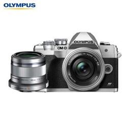 奥林巴斯(OLYMPUS)E-M10 MarkIV+14-42mm EZ+45mm F1.8人像双镜头微单套机em10照相机