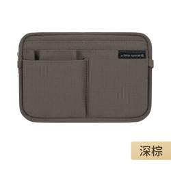 日本国誉(KOKUYO)一米新纯系列包中包 WSG-BBS01DS-深棕色