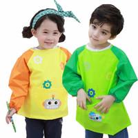 lemonkid 柠檬宝宝 儿童吃饭画画防水围裙罩衣