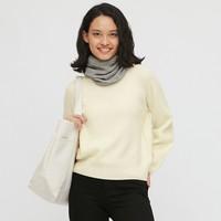 UNIQLO 优衣库 432216 女士3D羊毛混纺针织衫