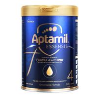 限新用户:Aptamil 爱他美 ESSENSIS 奇迹蓝罐系列 儿童奶粉 港版 4段 900g