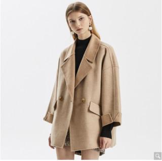ME&CITY 533M111599C616  女士羊毛混纺大衣