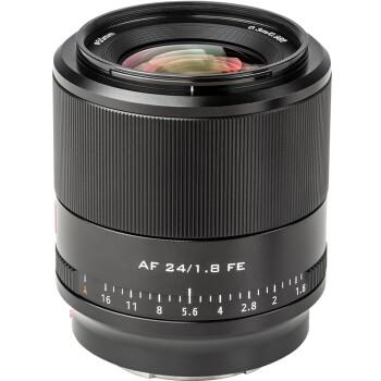VILTROX 唯卓仕 24mm F1.8 STM 全画幅广角定焦镜头 E卡口