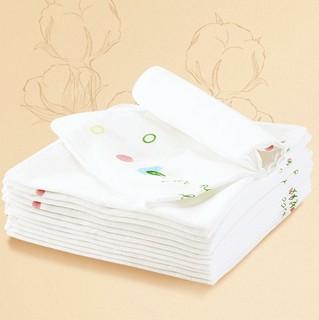 Purcotton 全棉时代 宝宝口水巾 3片