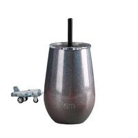 simple|modern 大肚吸管保温杯 350ml