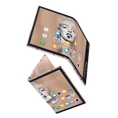 小编精选 : ROYOLE 柔宇 x 艺术家邹操联名款 FlexPai 2 金色尊享版折叠屏手机