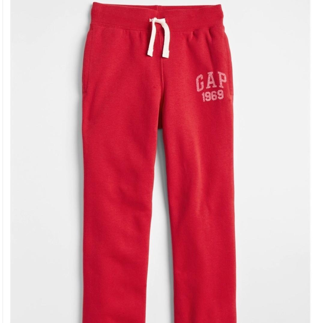 Gap 盖璞 男童 直筒运动卫裤