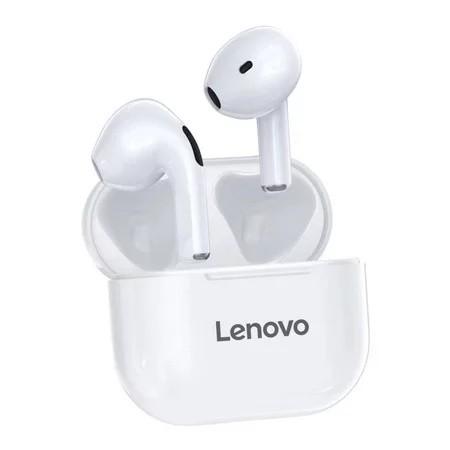 Lenovo 联想 LP40 真无线蓝牙耳机 白色