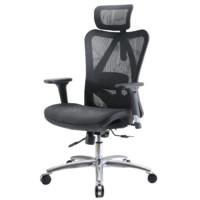SIHOO 西昊 M57 人体工学电脑椅 经典黑