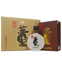 董酒 国香 54%vol 董香型白酒 500ml*4瓶 整箱装