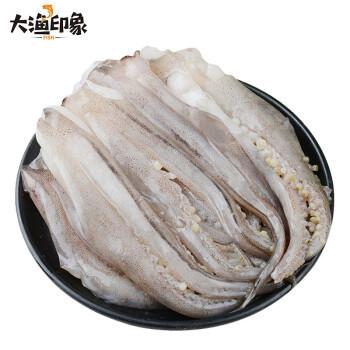 大渔印象 鲜冻鱿鱼须 400g/袋 *6件