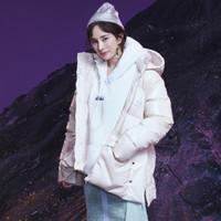 冬季新品 杨幂同款 时尚百搭 女款梭织羽绒服防风保暖运动外套