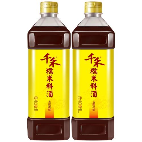千禾   糯米料酒    1L *2件