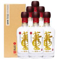 董酒 畅享版 54%vol 董香型白酒 500ml*6瓶 整箱装