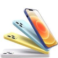 聚划算百亿补贴:PISEN 品胜 iPhone12系列 液态硅胶壳 送钢化膜