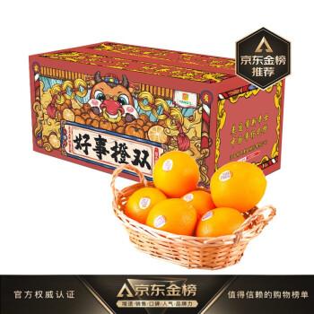 家有好事 杨氏YANG'S 赣南脐橙好事橙双礼盒5kg装 单果240g起 生鲜水果