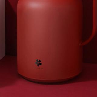 AKAW 保温壶 1.5L 赤焰红