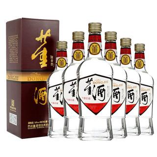 董酒 白标董酒 54度 500ml*6整箱装 董香型
