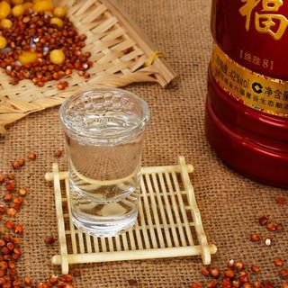 金六福 绵雅8 42%vol 白酒 500ml*6瓶 整箱装