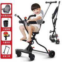 活石 嬰兒小推車溜娃神車遛娃神器兒童輕便可折疊夏季雙向四輪車 雙向靜音款