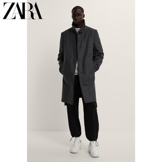 ZARA 04440300807 男士毛呢大衣外套