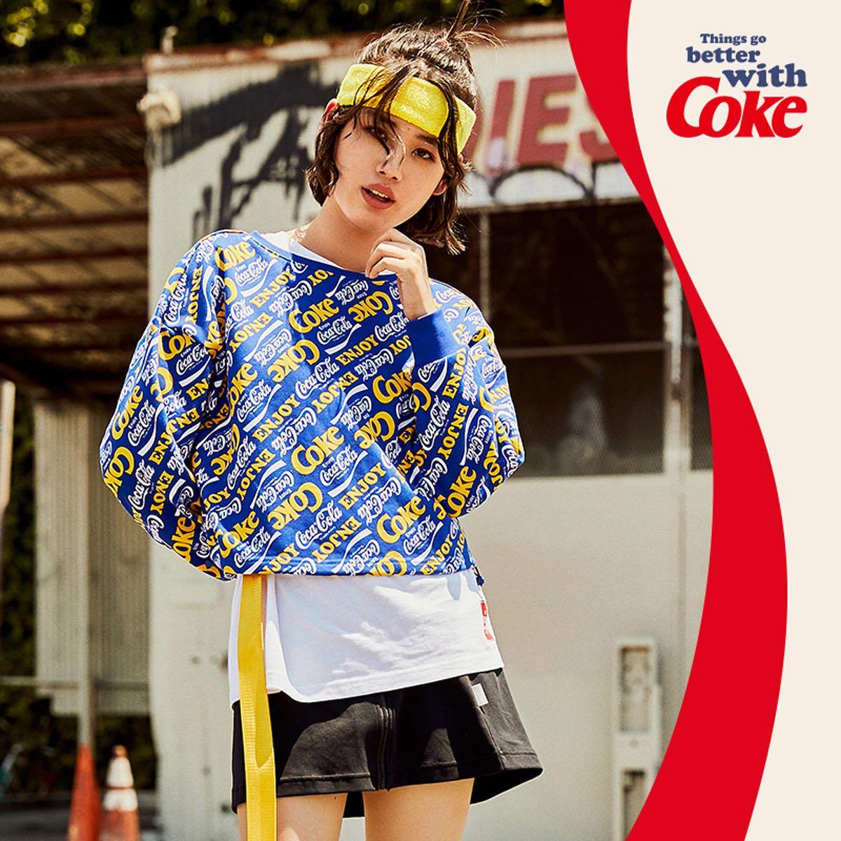 ANTA 安踏 可口可乐联名款 96938747-6 女款运动卫衣
