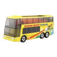 多美(TAKARA TOMY)859420 TOMY多美卡合金仿真小汽车模型儿童玩具42号观光巴士车模 *3件