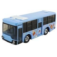 多美(TAKARA TOMY)879817 TOMY多美卡合金仿真小汽车模型玩具三菱轻松熊公交8号BUS巴士 *3件