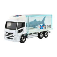 多美(TAKARA TOMY)多美卡仿真合金小汽车模型男孩玩具69号大阪鲨鱼运输车746829 *3件