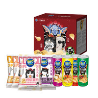 可比克薯片 天猫定制年货礼盒 700g *4件