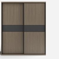 布拉德 K062 北欧推拉门衣柜 1.6m