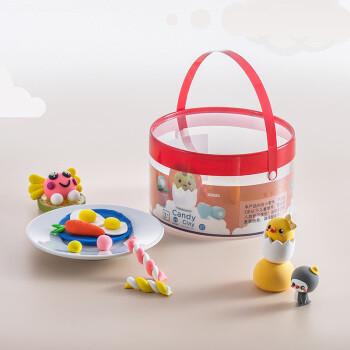 运费券收割机:J.ZAO 京东京造 超轻粘土糖果桶装 24色*10g