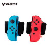 SparkFox 闪狐  配件switch手柄配件 NS腕带 红蓝色2个装