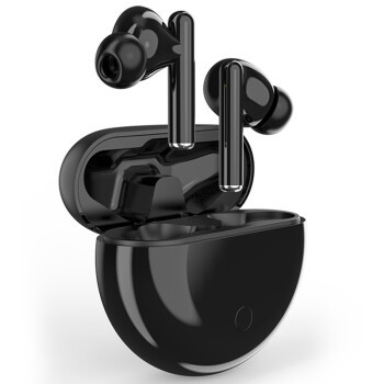 SANSUI 山水 JW6 降噪双耳真无线 蓝牙耳机 黑色