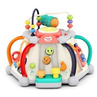 汇乐玩具 D806C 快乐小天地充电版六面体 婴儿宝宝早教益智玩具多功能游戏台儿童新年礼物送礼