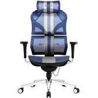Want Home 享耀家 X5 新电竞人体工学电脑椅 蓝白