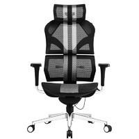 享耀家 X5 新电竞人体工学电脑椅 黑白