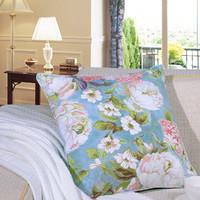 家纺抱枕靠枕 套件同款 纯棉  方抱 晨曦花语