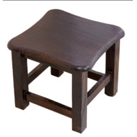 穆斯塔 实木凳子 换鞋凳 30*30*30cm
