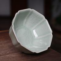 武夷建盏 青色汝瓷茶杯