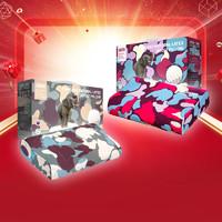 考拉海购黑卡会员:TAIPATEX 魔力绯红 泰国乳胶枕 60*34*10/13cm