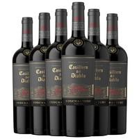 Casillero del Diablo 红魔鬼 魔尊系列葡萄酒 新标升级版 750ml*6瓶