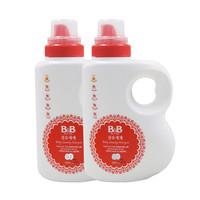 B&B 保宁 婴儿洗衣液 1500mL 2瓶装 *2件