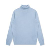 冬季新款男款休闲保暖亲肤高领毛衫