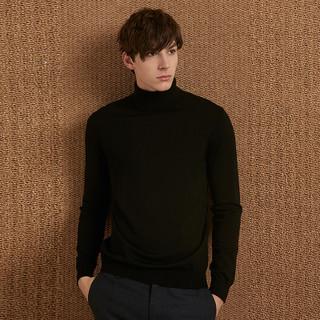 G2000男装高领毛衣 秋季柔软韩版宽松针织绵羊毛衫