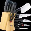 SUPOR 苏泊尔 游刃系列 T0824-2 六件刀具套装 黑色