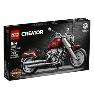 LEGO 乐高 Creator创意百变高手系列 10269 哈雷戴维森肥仔摩托车