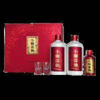 小糊涂仙 酒普仙双支礼盒52度浓香型白酒 485ml*2瓶